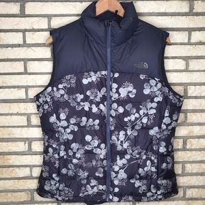 The North Face Goose Puffer Floral Vest